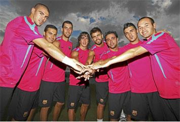 Los campeones del mundo del Barcelona