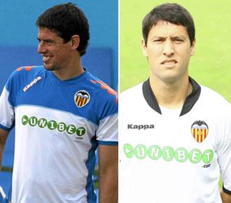 Asier Del Horno y Nacho Gonz�lez ya no jugar�n m�s esta temporada con la camiseta del Valencia.