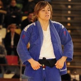 La judoka espa�ola Laura G�mez