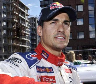 Dani Sordo no se lo est� poniendo nada f�cil a su compa�ero de Citroen Sebastien Loeb.