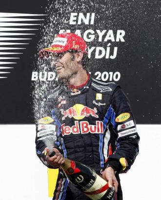 Mark Webber, en el �ltimo GP de Hungr�a