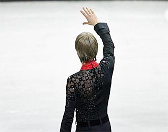 Evgeni Plushenko, en los �ltimos Juegos de 2006