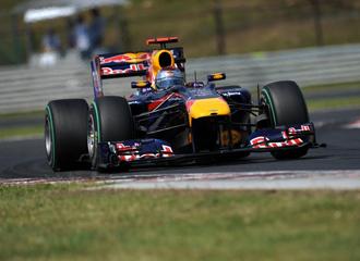 Vettel en el Gran Premio de Hungr�a.