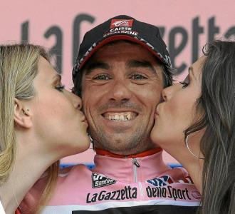 David Arroyo en el pasado Giro de Italia.