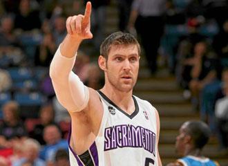 Nocioni en su �poca como jugador de los Sacramento Kings