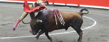 El Juli entrando a matar en Bilbao
