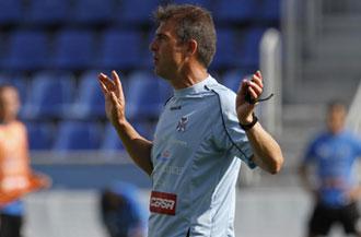 Gonzalo Arconada quiere devolver al Tenerife a Primera