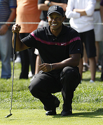 Tiger disfrut� del golf como hace tiempo no se le recordaba