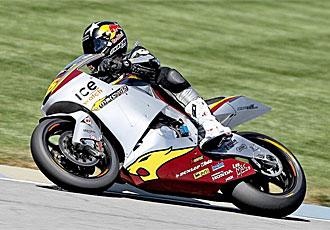 Redding logró el mejor tiempo en Moto2