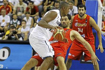 Francia 72-66 Espa�a