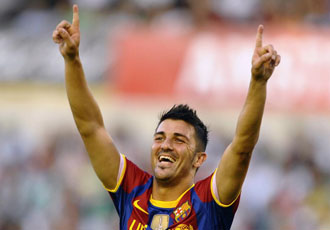 Villa ya suma un gol en la lista de goleadores