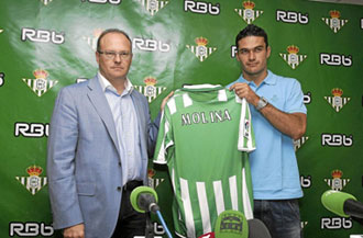 Jorge Molina fue una de las compras m�s caras en Segunda Divisi�n