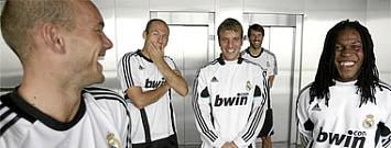 Van der Vaart, Drenthe, Robben, Sneijder, y Van Nistelrooy