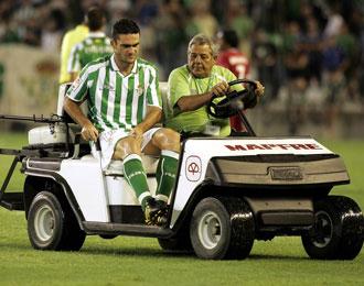 Jorge Molina ser� una baja sensible para el Betis