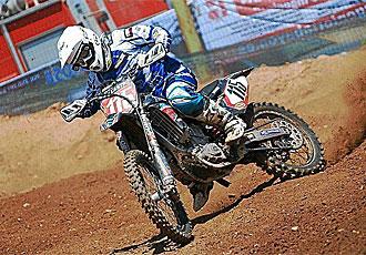 Camapano hizo historia en el motocross espa�ol.