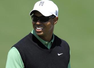 Tiger Woods, en un entrenamiento