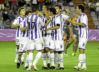 Pe�a apuesta por el Valladolid como favorito al ascenso