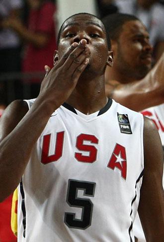 Durant aspira a MVP del torneo y es la principal amenazada para los locales