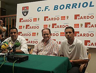 Sergio Garc�a, en una imagen de archivo, en su presentaci�n como presidente del Borriol