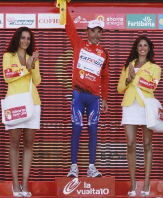 'Purito' Rodr�guez recuper� el maillot rojo.