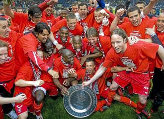 El Twente holand�s fue el campe�n de la Liga Holandesa