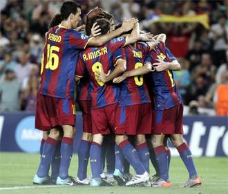 Lotina qued� maravillado con el juego desplegado ante el FC Barcelona.