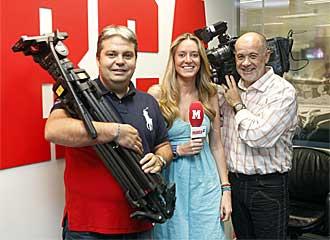 Miguel �ngel M�ndez, Andrea Prat y Alfredo Duro, las caras del f�tbol sala