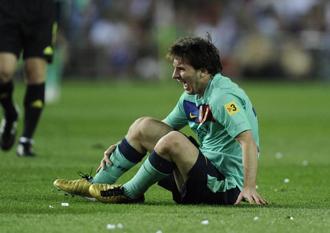 La entrada a Messi sigue levantando pol�mica