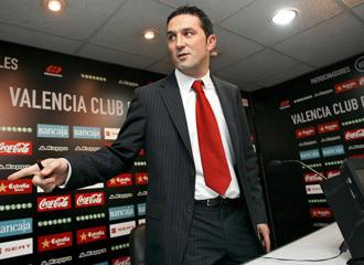 Braulio V�zquez, coordinador de la secretar�a t�cnica del Valencia.