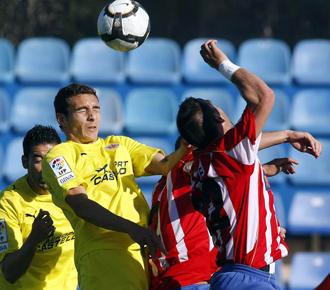 Partido de la pasada temporada entre Girona y Villarreal B.