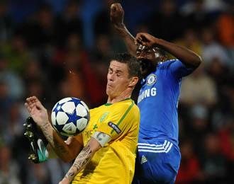 El Zilina no pudo en la primera jornada de la Liga de Campeones ante el Chelsea, 1-4.