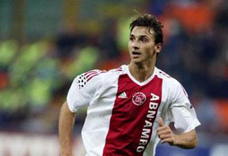 Ibra en sus tiempos con el Ajax