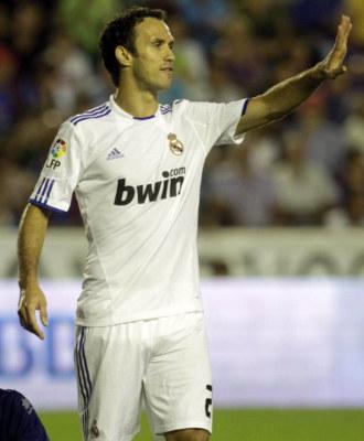 Carvalho, durante el partido ante el Levante