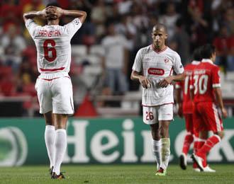 El Hapoel Tel Aviv cay� derrotado en Lisboa ante el Benfica (2-0), en la primera jornada de la Champions.