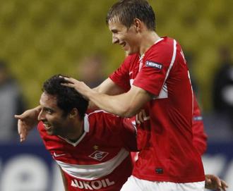 El Spartak pisa fuerte en Europa