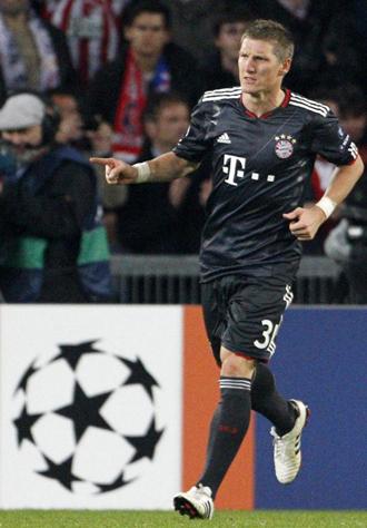 Schweinsteiger fue el protagonista del partido