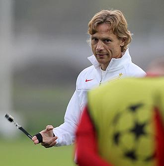 Valery Karpin, entrenador del Spartak de Mosc�.