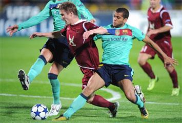 Rubin Kazan 1-1 Barcelona