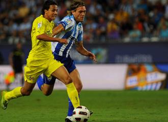 Kris en el �ltimo partido ante el Villarreal