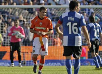 Joaquin durant el partido contra el H�rcules.