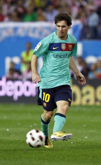 Messi reapareci� el mi�rcoles en Champions ante el Rubin Kaz�n.