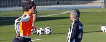 Pedro Le�n y Mourinho
