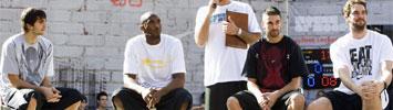 Kobe, Ricky, Pau y Navarro