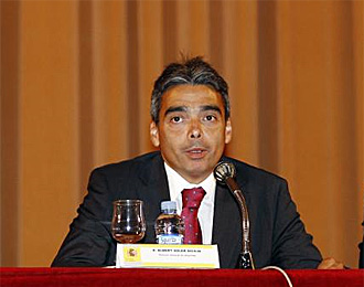 Albert Soler, en una conferencia