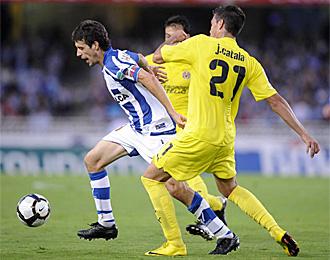 Catal�, en un partido contra la Real Sociedad