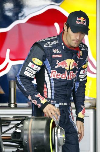 Mark Webber, l�der del Mundial de F�rumla 1.
