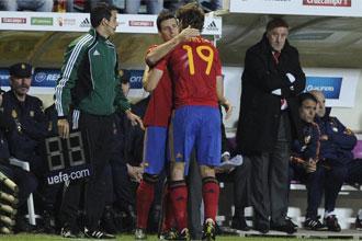 Aduriz debut� ante Lituania.