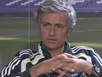 Mourinho, en la entrevista a Gol Televisi�n