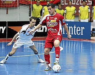 Vinicius, en un partido con ElPozo