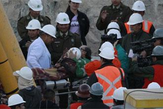 El f�tbol estuvo presente hasta en el rescate de los mineros.